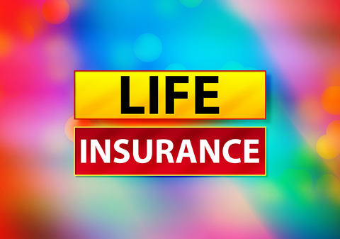 LIFE Insurance wording with abstract colors ID 154748008 © | Dreamstime.com